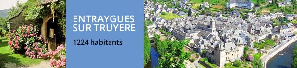 Ville d'Entraygues sur Truyère en Aveyron