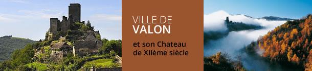 Ville de Valon en Aveyron