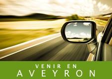 Plan d'accès au Gite Aveyron Epilobe