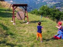 Tir à l'arc au château de Calmont d'olt
