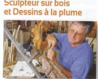 sculpteur sur bois à Entraygues