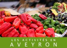 Activites autour du Gite Aveyron Epilobe